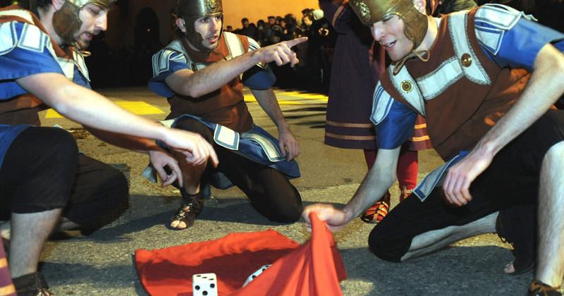 Mendrisio, 20 marzo 2008 - Processione storica del Giovedi santo di Mendrisio (FOTO FIORENZO MAFFI)